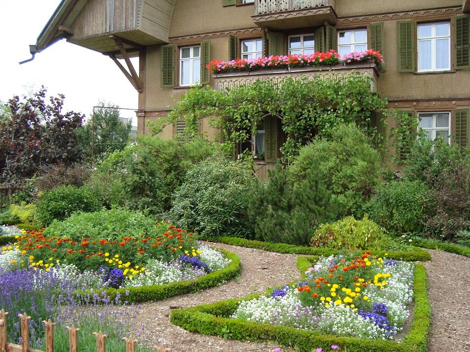 maison jardin